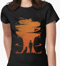 Nuclear war Women's Fitted T-Shirt