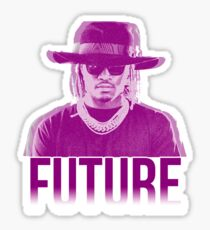 Purple Future Sticker