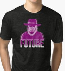 Purple Future Tri-blend T-Shirt