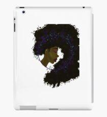 Black Nouveau iPad Case/Skin