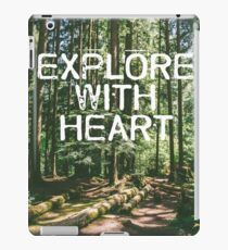 Explore with Heart iPad Case/Skin