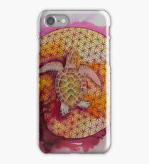 Rosy albino green  iPhone Case/Skin