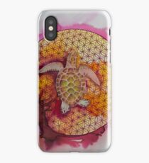 Rosy albino green  iPhone Case