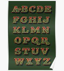 December Green Poster