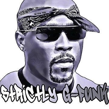 Nate Dogg T-Shirt and Stuff (Strictly G-Funk) by skylab76