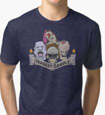 Nerdy Tee - Tragödie Kerze Vintage T-Shirt