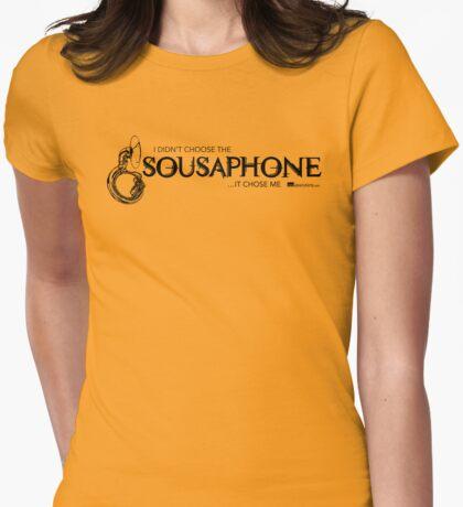 I Didn't Choose The Sousaphone (Black Lettering) T-Shirt