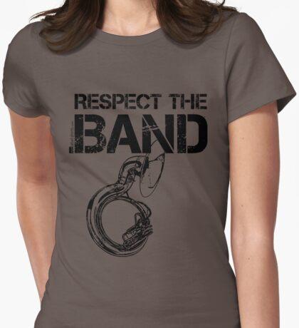 Respect The Band - Sousaphone (Black Lettering) T-Shirt