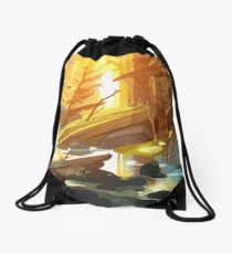 The End of All Things Drawstring Bag