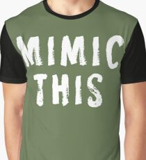 MIMIC THIS - Kimmel (Screen Accurate) Edge of Tomorrow Graphic T-Shirt
