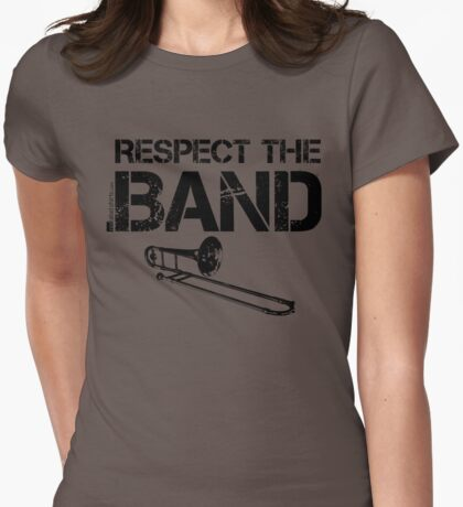 Respect The Band - Trombone (Black Lettering) T-Shirt