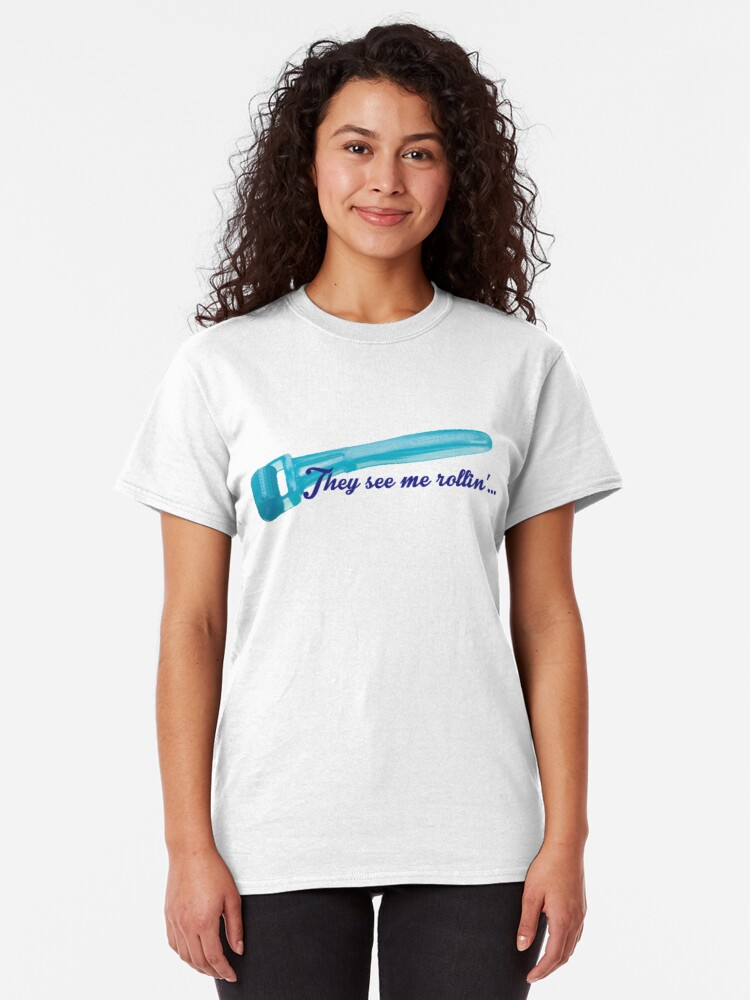 Alternate view of They See Me Rollin' Classic T-Shirt