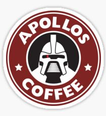 Apollos Coffee Sticker