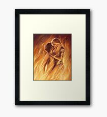 True Love In Flagranti Framed Print