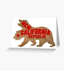 Yell For Your Republic Greeting Card
