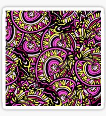 Abstract hand drawn colorful seamless pattern Sticker