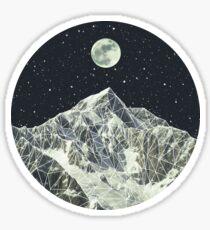 Vollmond Sticker