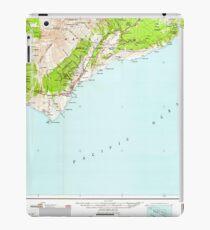 USGS TOPO Map Hawaii HI Hawaii South 349925 1962 250000 iPad Case/Skin