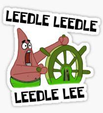 Pegatina Leedle Leedle Leedle Lee - Bob Esponja