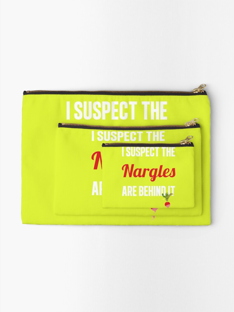 Alternate view of The Nargles Zipper Pouch
