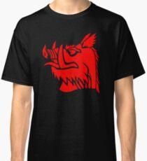 Camiseta clásica Jabalí negro