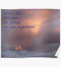 Sunset Sentiment Poster