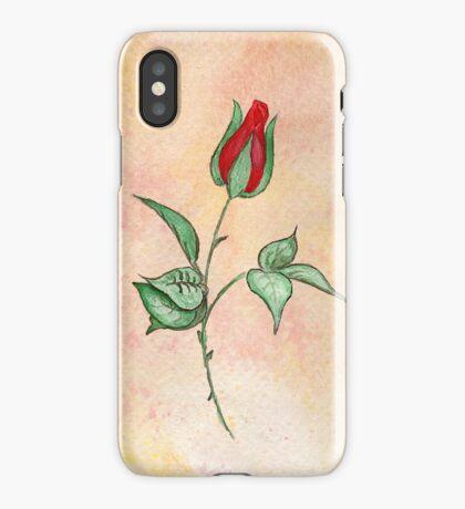 Rosebud Tee & more iPhone Case