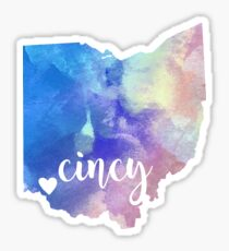 Cincy Sticker