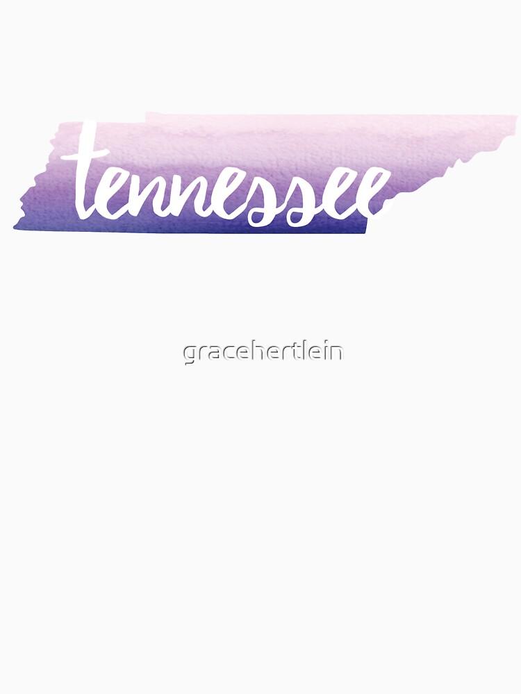 Tennessee - purple  by gracehertlein
