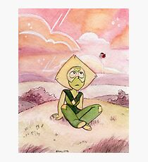Peace and Love on the Planet Earth - Steven Universe Peridot Photographic Print