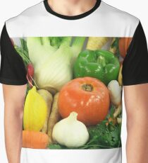 Vegetables, Fruits, Ingradients and Spices  Graphic T-Shirt