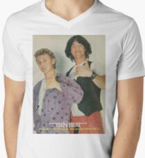 Bill and Ted Teen Beat cover Men's V-Neck T-Shirt