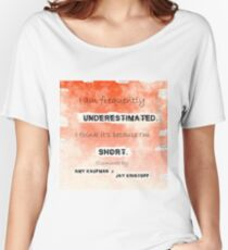 Illuminae - Underestimated Women's Relaxed Fit T-Shirt