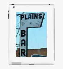 Plains Bar iPad Case/Skin
