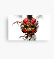 street fighter 5 Canvas Print