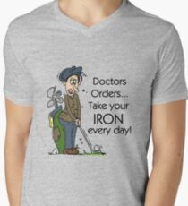 Funny Golfing Iron Every Day Men's V-Neck T-Shirt