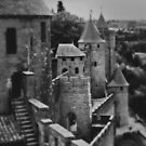 Carcassonne Castle by Caroline Gorka