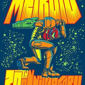 Metroid 30th Anniversary by VicNeko