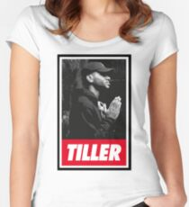 Bryson Tiller [4K] Women's Fitted Scoop T-Shirt