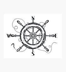 The Helm's Compass Photographic Print