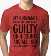 Neues Mädchen - Schuldig-Shirt Vintage T-Shirt