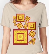 Yellow Daisy Women's Relaxed Fit T-Shirt