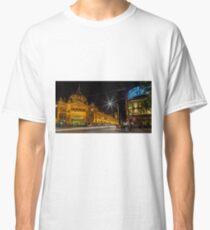 Melbourne Flinders Street Station  Classic T-Shirt