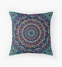 Ethnic mandala Throw Pillow
