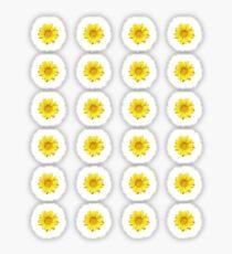 Gelbes Gänseblümchen Sticker