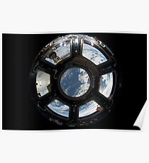 ISS cupola Poster