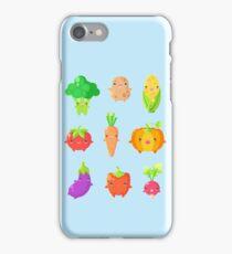 Cute Vegetable Friends iPhone Case/Skin