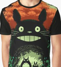 Totoro Dark Night Graphic T-Shirt