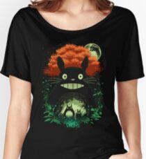Totoro Dark Night Women's Relaxed Fit T-Shirt