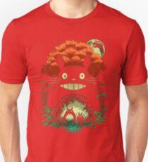 Totoro Dark Night Unisex T-Shirt